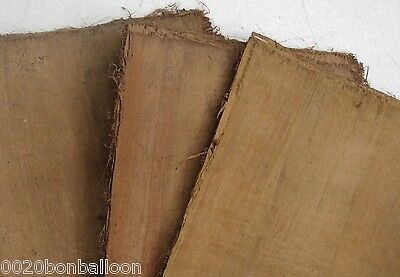 "10 Blank Dark Papyrus Wholesale Egyptian Original  Hand Made 8""X6"" (20x15cm)"