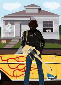 Bruce Springsteen - Thunder Road - (signed) Art Print - Jarod Art