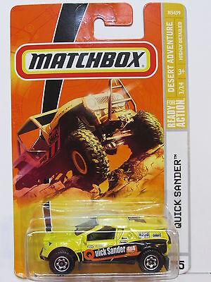 Modellbau GüNstiger Verkauf Matchbox 2008 Schnelles Schleifer #75 Gelb QualitäT Und QuantitäT Gesichert