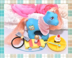 My-Little-Pony-MLP-G1-Vtg-BABY-BROTHER-Drummer-BANDANA-Playtime-Xylophone