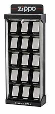Acrylic Countertop Zippo Display Case Lock and Keys Showcases 15 Lighters! NEW!