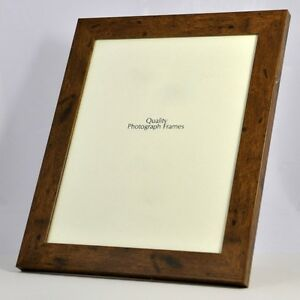 Dark-Rustic-Wood-Finish-Photo-Picture-Frame-28mm-wide-Various-Sizes-available