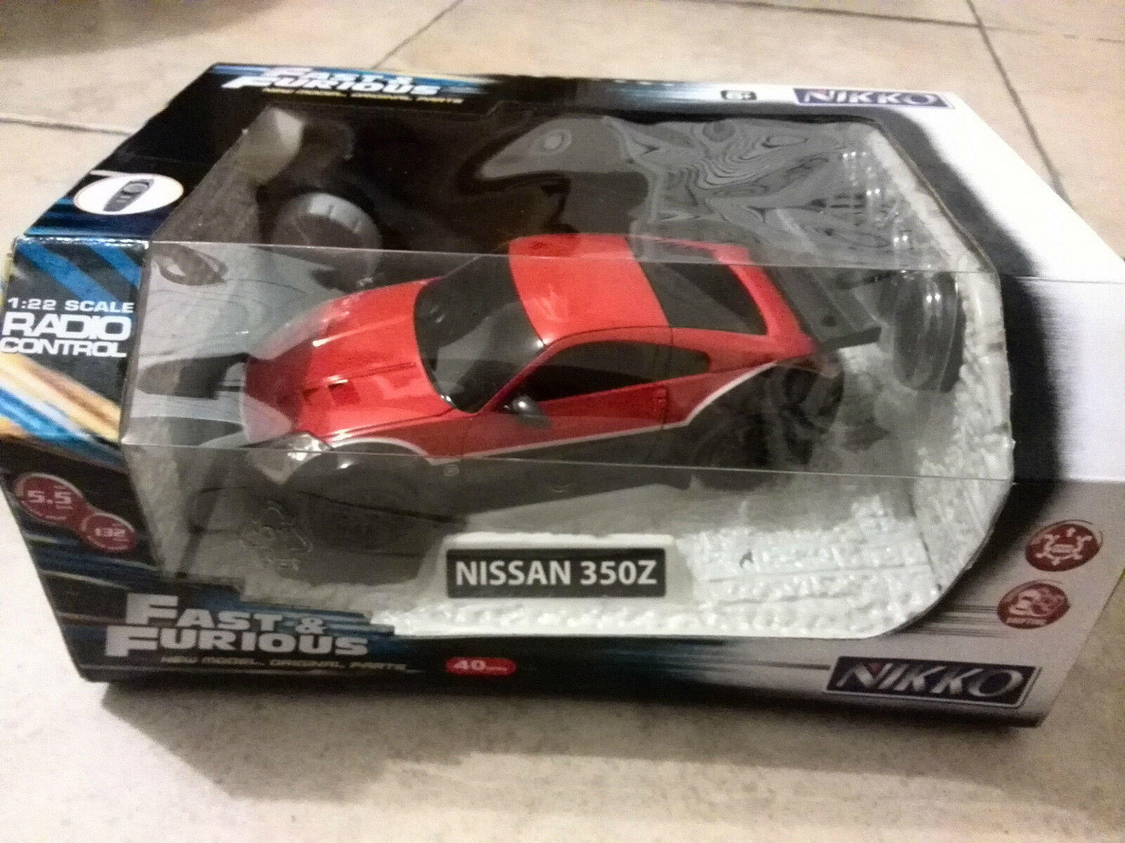 Venta FAST & FURIOUS NISSAN 350Z Rc coche Escala 1 22 - Nuevo
