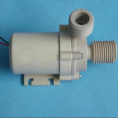 Solar DC 12V 24V Hot Water Circulation Pump Brushless Motor Water Pump 3M 5M