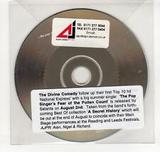 (GP350) The Divine Comedy, The Pop Singer's Fear Of The Pollen Count - DJ CD