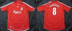 Details about Steven Gerrard #8 The Reds FC LIVERPOOL jersey shirt ADIDAS 2006 07 adult SIZE L