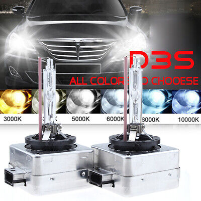 2x HID Xenon Headlight Bulbs OEM Replace Lamp 35W D3S High Lo Beam Fit Chevrolet