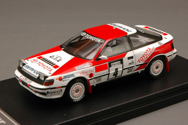 Toyota Celica Gt-four  4 Winner 1000 Laghi 1990 Sainz / Moya 1:43 Model 8573