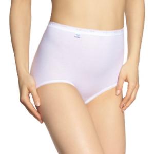 Taille 12 Blanc SLOGGI femme Basic Maxi 2P courte
