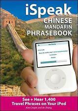 iSpeak Chinese  Phrasebook (MP3 CD + Guide): An Audio + Visual Phrasebook for Yo