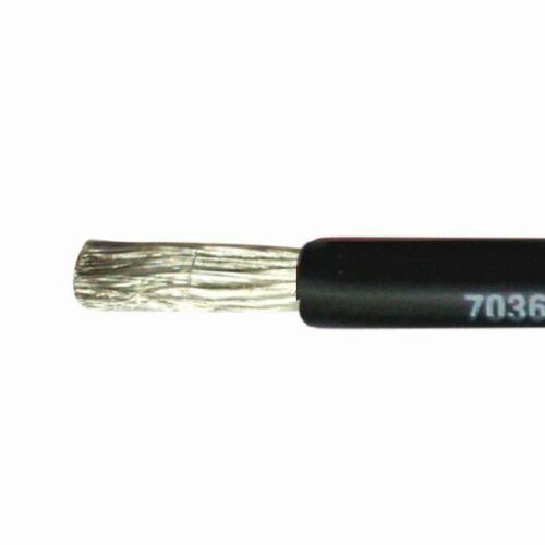 1,5mm² Marine Kabel einadrig verzinnt Stromkabel schwarz rot