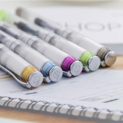 Wing Sung 3003 Black Transparent Fountain Pen Extra Fine EF Nib 0.38mm Writing #