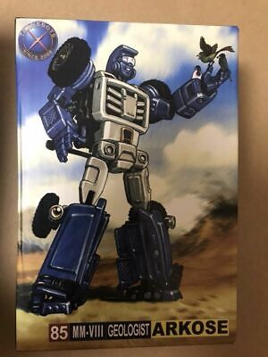 Transformers toy X-Transbots MM-VIII Arkose G1 Beachcomber   G1 Metal color Vers