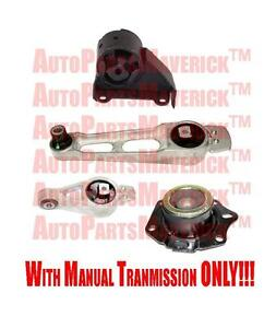 03 05 dodge neon 2 0l engine transmission mounts with. Black Bedroom Furniture Sets. Home Design Ideas