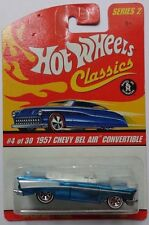 Hot Wheels Classics Series 2 1957 Chevy Bel Air Convertible 4/30 (Blue)