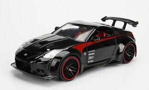 2017 Jada Toys Jdm Tuners 1 24 Scale Black 2003 Nissan 350z