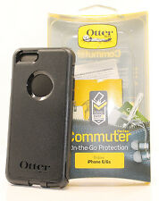 OtterBox Commuter 2-Layers Hard Case Snap Cover for iPhone 6 & iPhone 6s (Black)