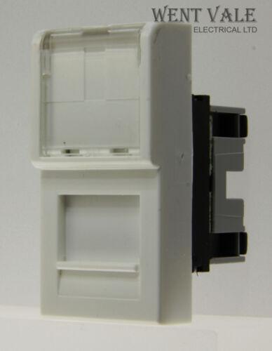 0742 85 BS RJ45 UTP VDI Socket Module New Legrand Mosaic