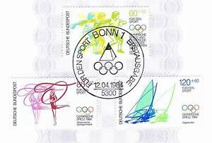 Rfa 1984: Jeux Olympiques! Sport Marques Nº 1206-1208! Bonner Cachet! 1a! 1602-afficher Le Titre D'origine