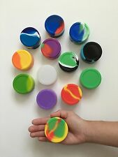 5 Silicone 22ml Large Nonstick Dab Container Jar Food Grade