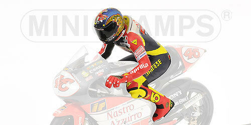 Minichamps 312 980056 Valentino Rossi Montar A Caballo Figura, Gp 250 Imola 1998, Ltd Ed