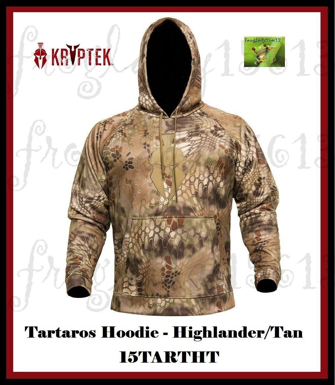 KRYPTEK Tartaros Hoodie-Highlander & tan Tartaros Sudadera Con Capucha - 15 tartht