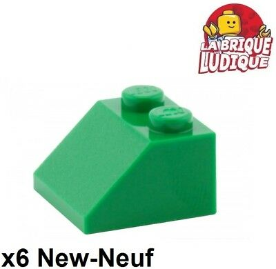 Black Black Roof Brick 2x2 Slope 45° New New 6 x lego 3039 Brick Gradient Roof