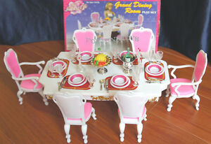 Details about NEW FANCY LIFE DOLL HOUSE FURNITURE GRAND Dining Room Playset  (2312)
