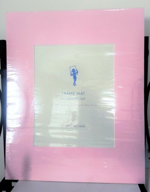 PRECIOUS Pottery Barn Kids Frame Mat 8 x 10 Opening Pink Girl NEW UNOPENED