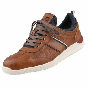 Neuf MUSTANG Chaussures Femmes Chaussures Baskets De Loisirs Chaussures Basses Toile Lacets