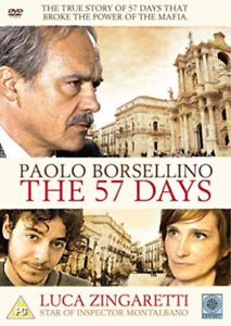 Giovanni-Calgano-Luca-Zing-Paolo-Borsellino-The-57-Days-DVD-NEW