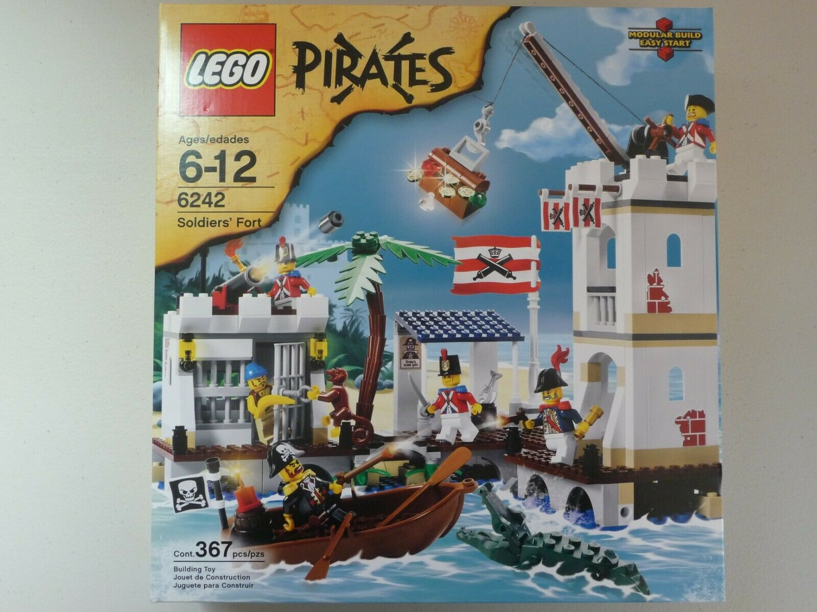 Lego Pirates 6242 soldados de Fort