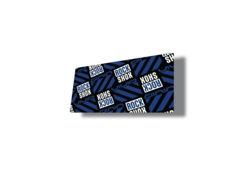 Rock Shox 2020 Super Deluxe Ultimate Rear Shock Decal Sticker Adhesive Blue