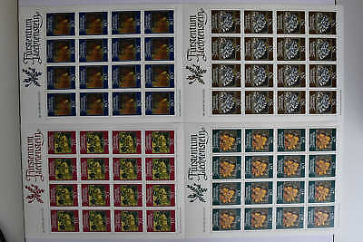 Kompl. 5 Modestil N6 Liechtenstein 776-779 Kleinbogensatz Postfr Mw 67,20 4 Bögen