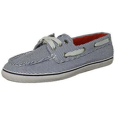 Sperry Top-Sider Women's Cruiser Blue/White Stripe Boat Shoe