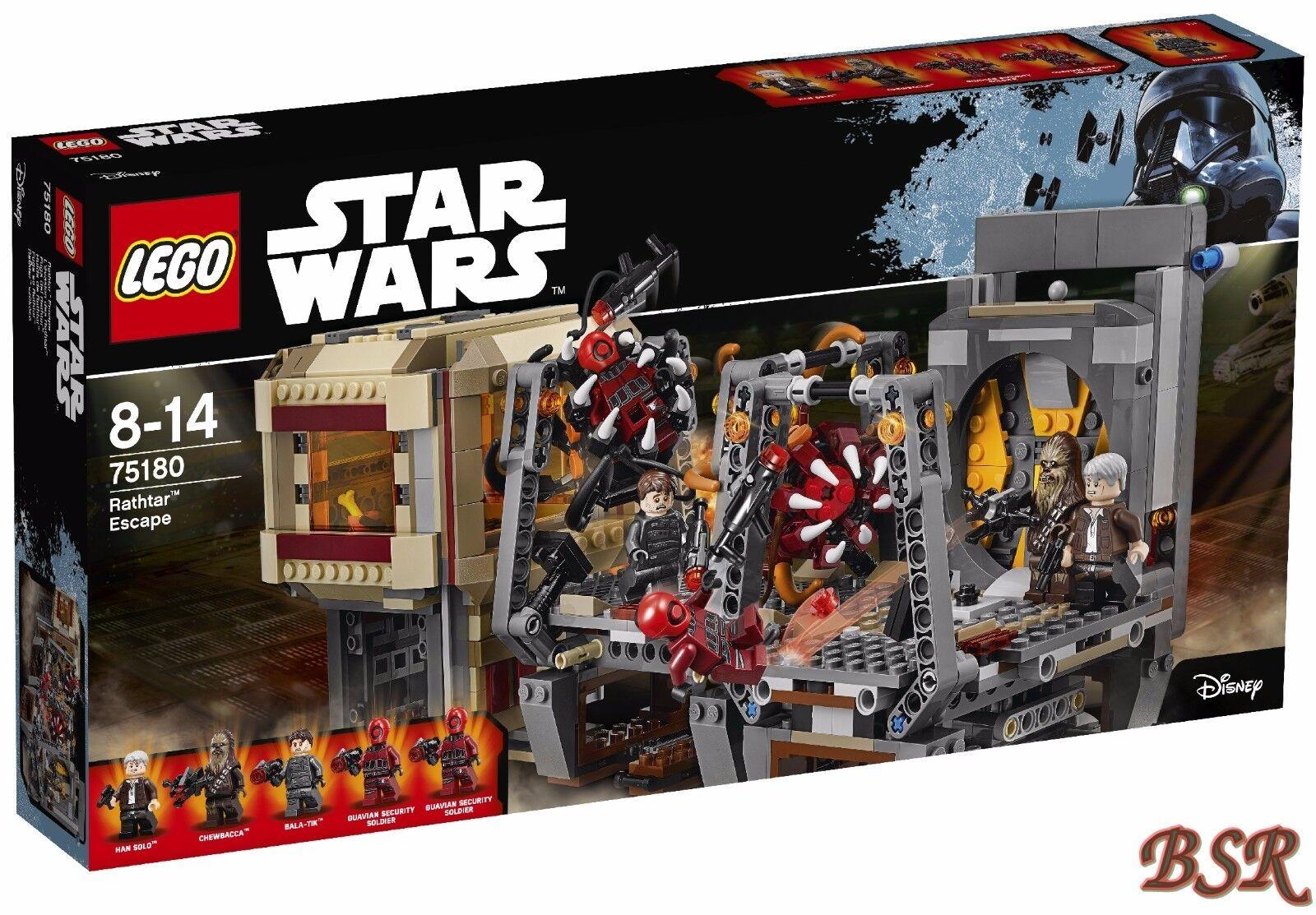 LEGO ® Star Wars ™: 75180 rathtar ™ Escape & 0.€ Spedizione & Scatola Originale & Nuovo