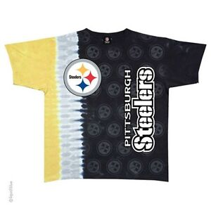 New PITTSBURGH STEELERS VERTICAL Tie Dye T-Shirt NEW LICENSED TEAM ... 9f579cbc6