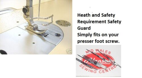 ESSENTIAL HEALTH /& SAFETY ITEM SAFETY FINGER GUARD FOR SEWING MACHINES