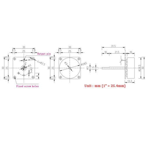 AC 3 Phase Micro Brushless Generator Mini Wind Hand Generator Motor 3-24V K9
