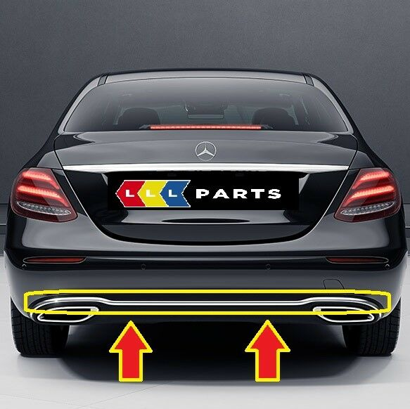MERCEDES W123 coupe REAR BUMPER RUBBER NEW FREE SHIPPING