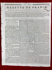 Bonaparte-et-Georges-Washington-USA-1799-Baie-de-Quiberon-Chouans-Lorient-Nantes