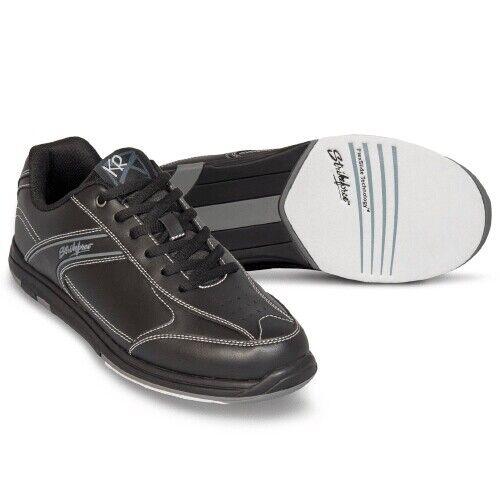 KR Flyer Black Mens Tenpin Bowling Shoe