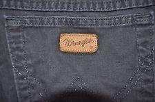 Vintage black Wrangler Ohio jeans W 34 L 34 loose fit zip fly