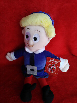 Herbie from Rudolph Plush Doll by Russ NEW