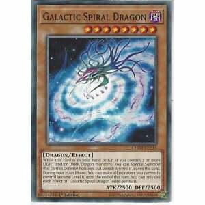 X3 YUGIOH GALACTIC SPIRAL DRAGON CHIM-EN016 COMMON 1ST NM