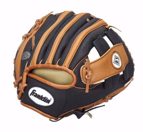 "Franklin Teeball Fielding Glove RTP Performance 9,5/"" mit Ball Baseball"