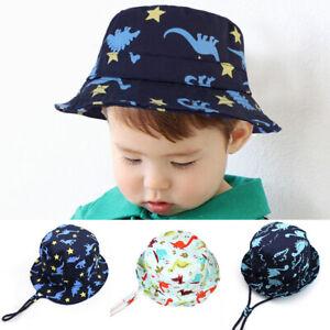 5f670a96 Baby Sun Hat Summer Beach Hat Bucket Cap Newborn Toddler Kids Boy ...