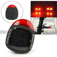 Fanalino Posteriore Bici 2 LED Luce Rossa Energia Solare 4 Modi + Fissaggio