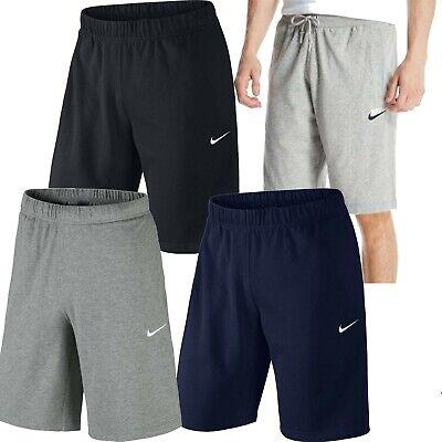 Nike Short Croisé Long Jogging Polaire Décontracté Gym Entraînement SPORTS Court | eBay