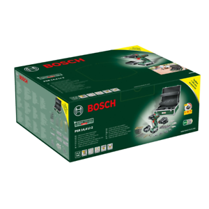 Zubehörset im Alu-Koffer Werkzeug Bosch Akkuschrauber PSR 14.4 LI-2-241-tlg